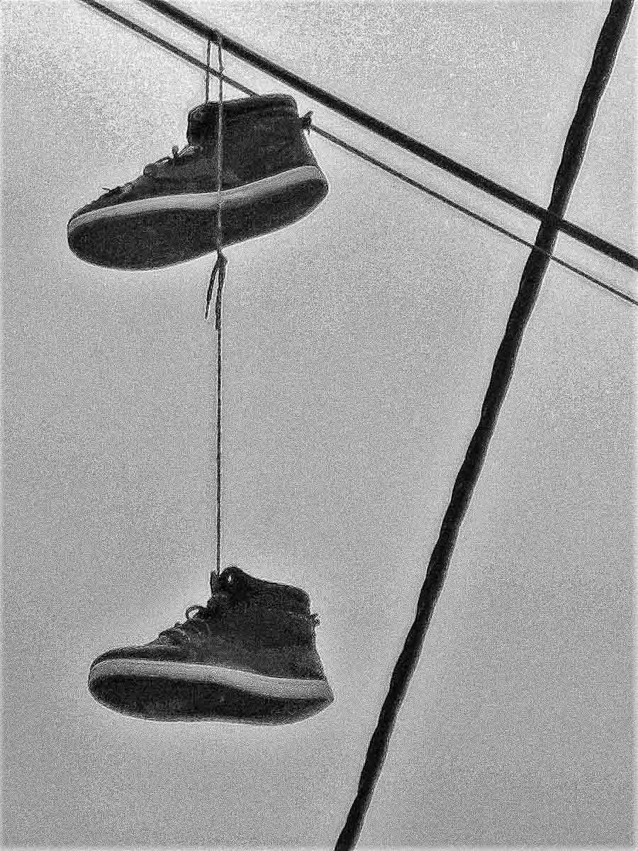 Florence Breuillet, Atelier Focale 16, Mes souliers, Janvier 2021