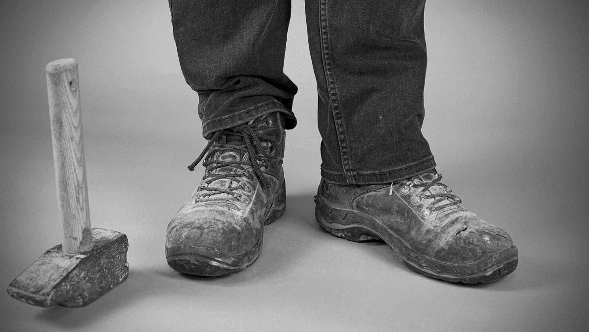 Dominique Godet, Atelier Focale 16, Mes souliers, Janvier 2021