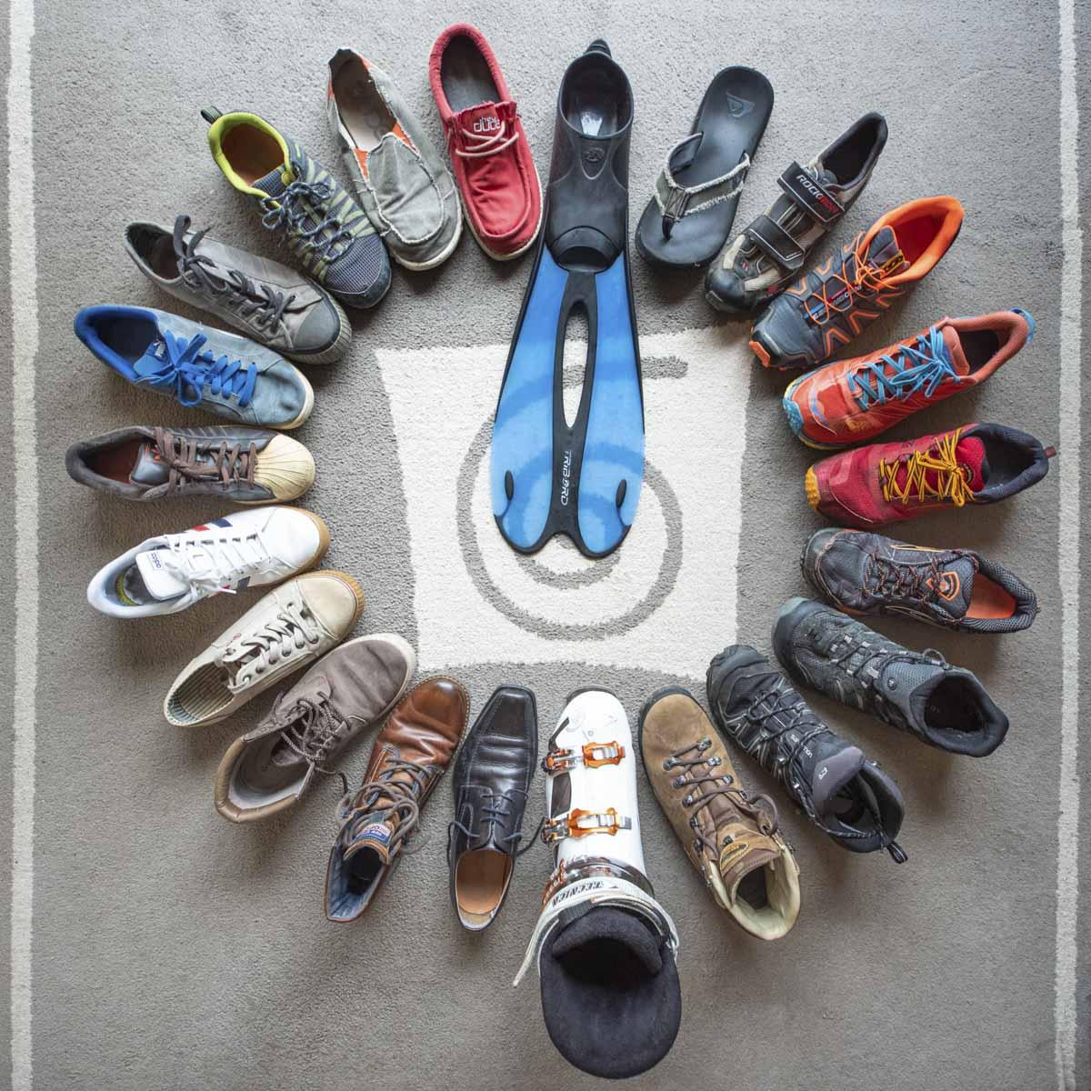 Sébastien Barthel, Atelier Focale 16, Mes souliers, Janvier 2021