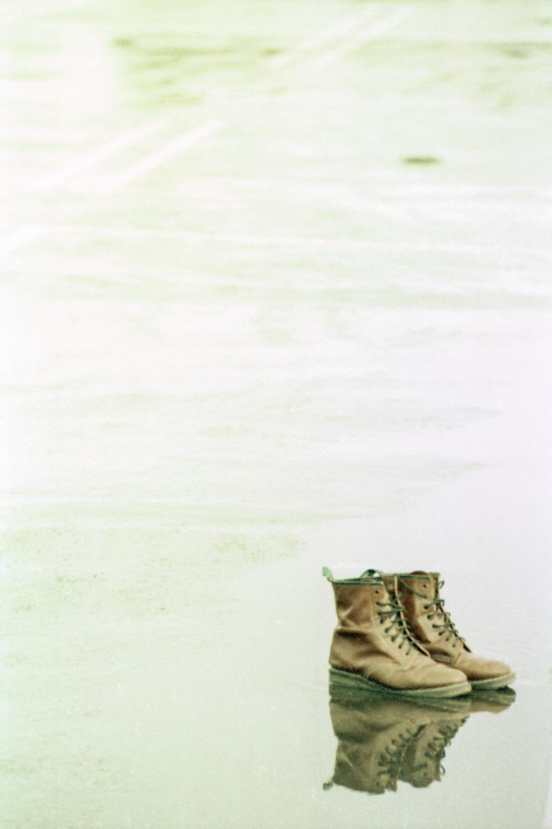 Philippe Lafaye, Atelier Focale 16, Mes souliers, Janvier 2021