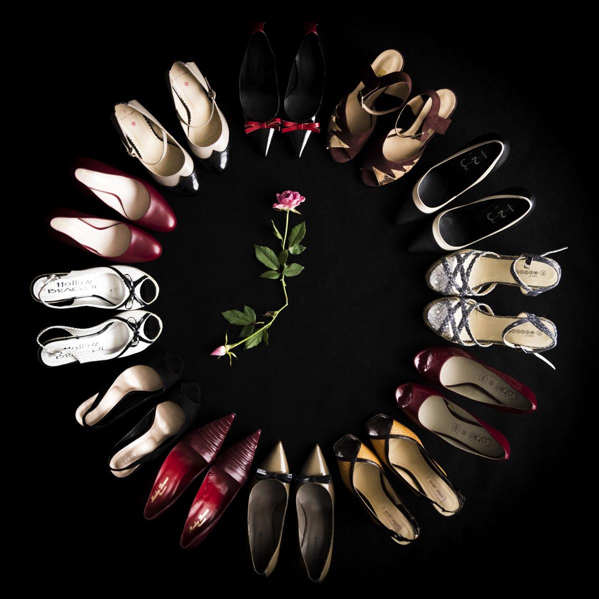 Alexandra Chollet, Atelier Focale 16, Mes souliers, Janvier 2021