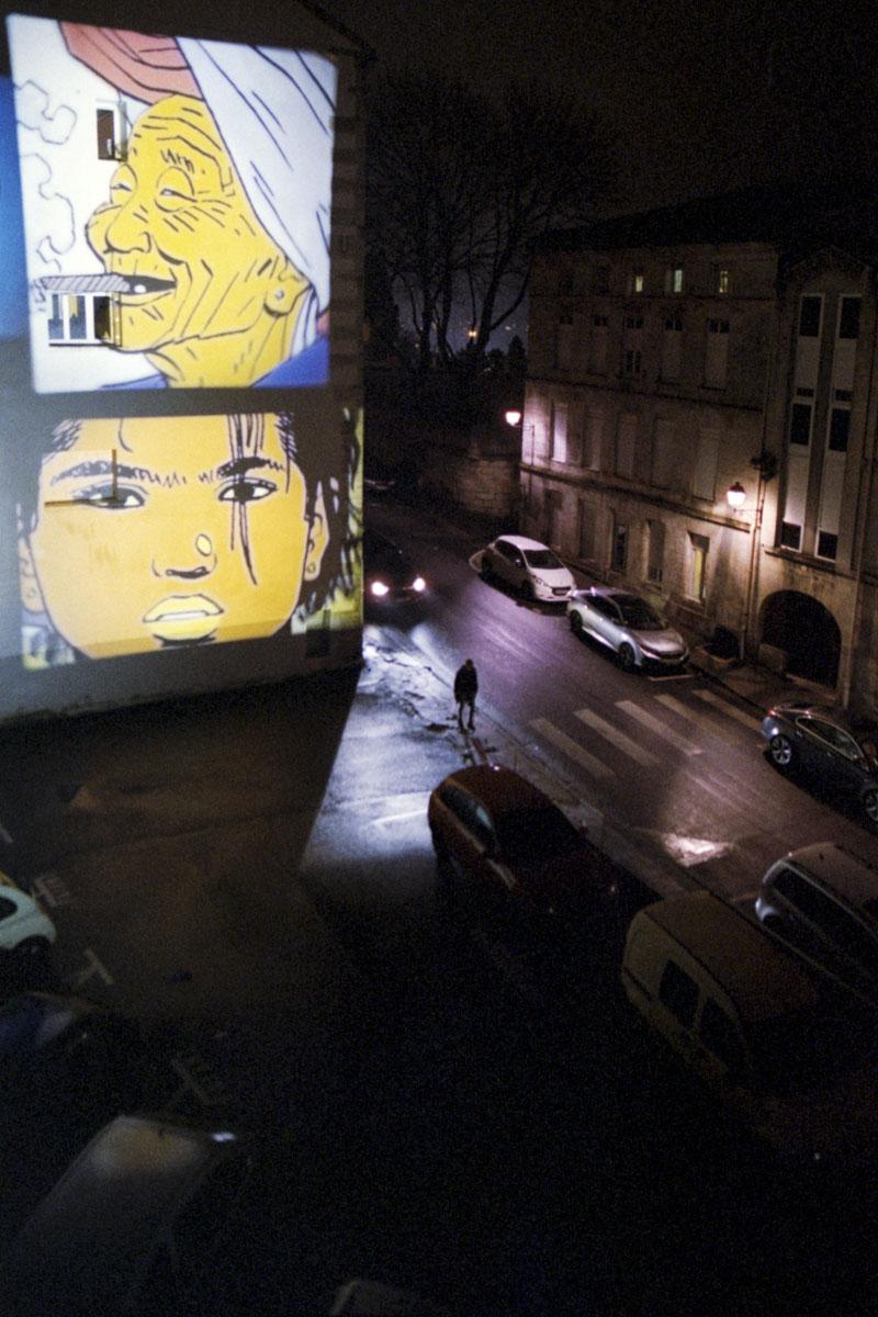 Philippe Lafaye, concours mensuel décembre 2019, lumière dans la nuit