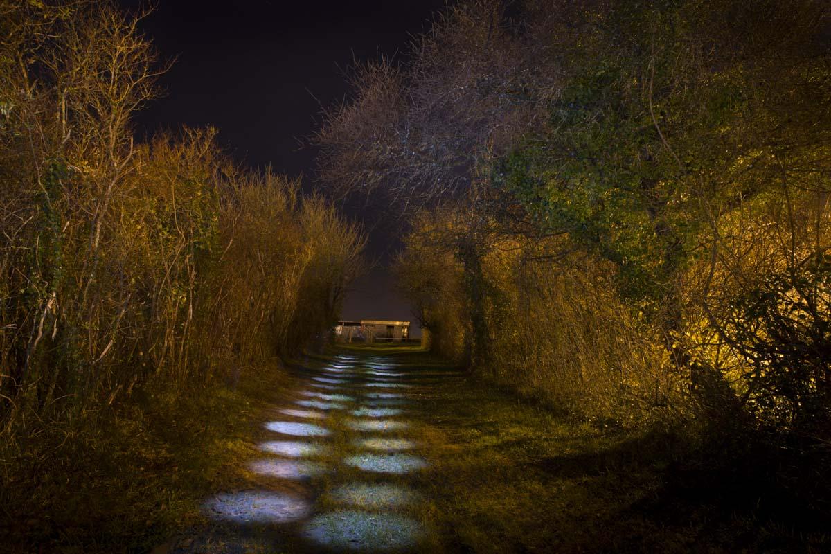 Benoît Fouché, concours mensuel décembre 2019, lumière dans la nuit