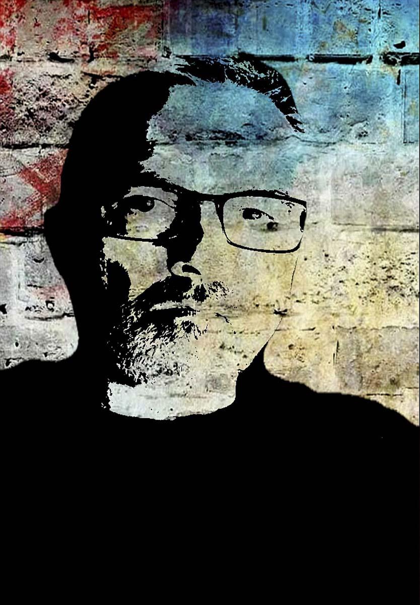 Claude Kerjean, Atelier Focale 16 concours mensuel juin 2020, autoportrait
