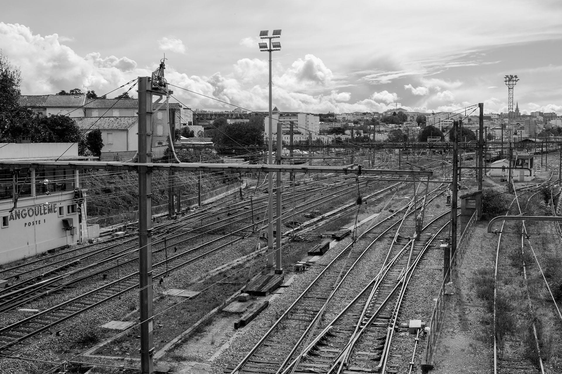 Gare d'Angoulême, Pierre Emmanuel Dufermont, Atelier Focale 16, exposition photo à l'incontournable