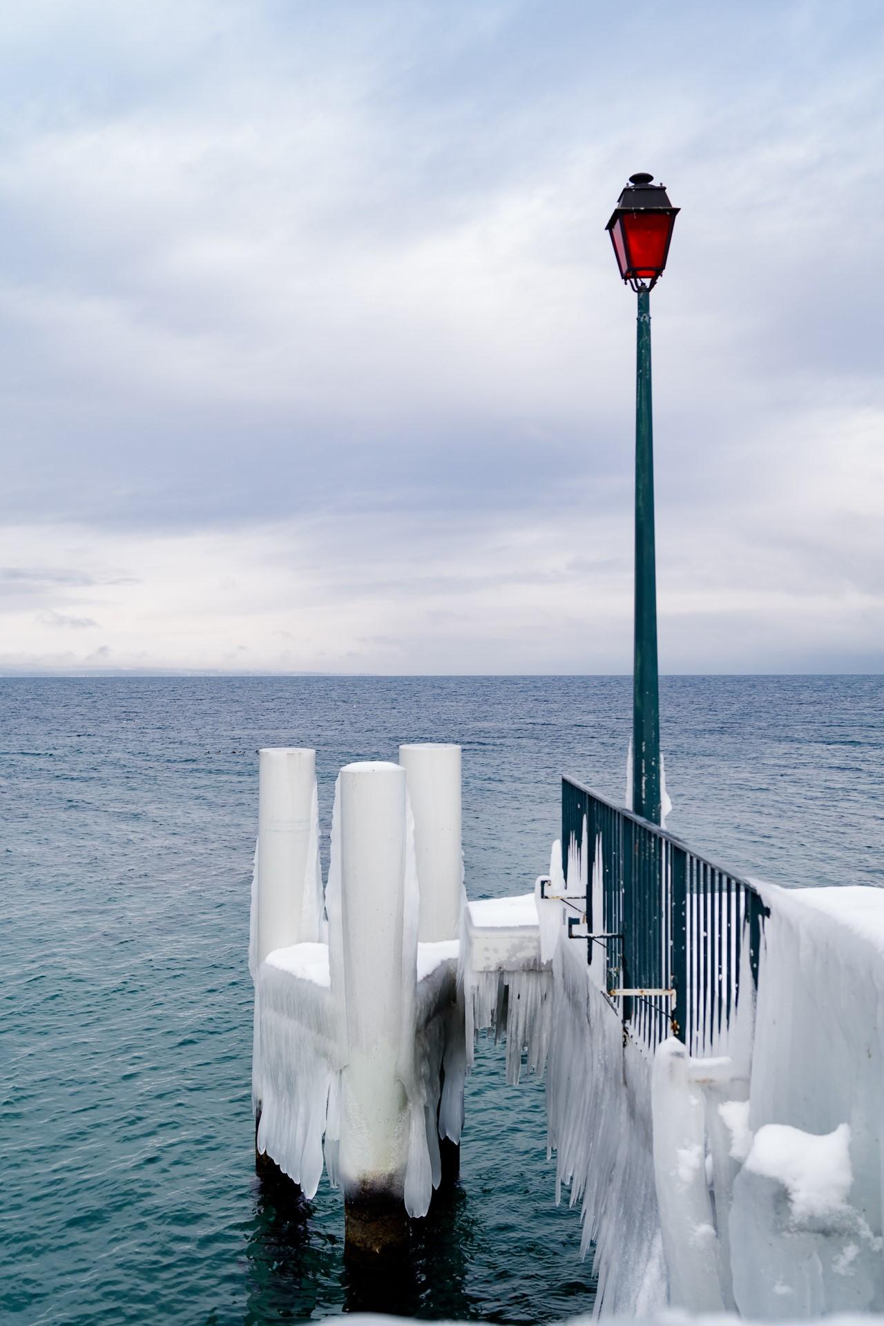 Le ponton glacé, Alexandra Chollet, Atelier Focale 16, exposition photo à l'incontournable