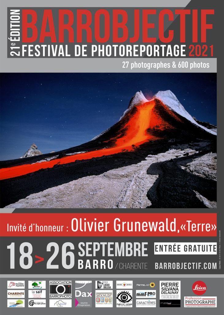 Affiche du festival barrobjectif 2021